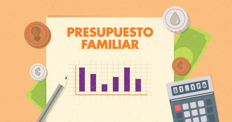 cómo establecer un presupuesto familiar
