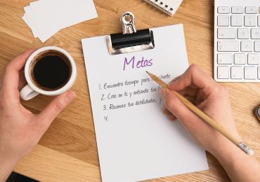Lista de cotejo para que puedas enfocarte en trabajar por tus metas
