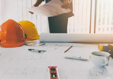 Persona trabajando construcción