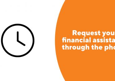 Request your financial assistance online
