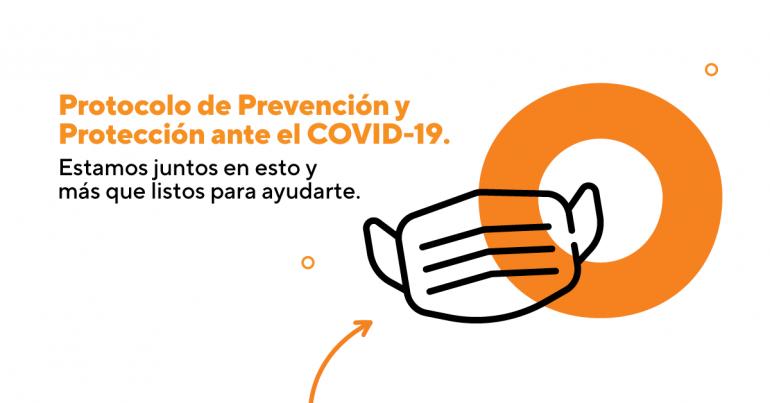 Protocolo de Prevención y Protección ante el COVID-19.