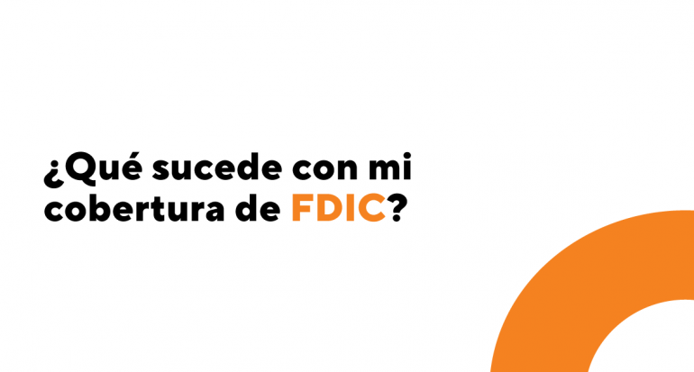 Cobertura de FDIC en tus cuentas